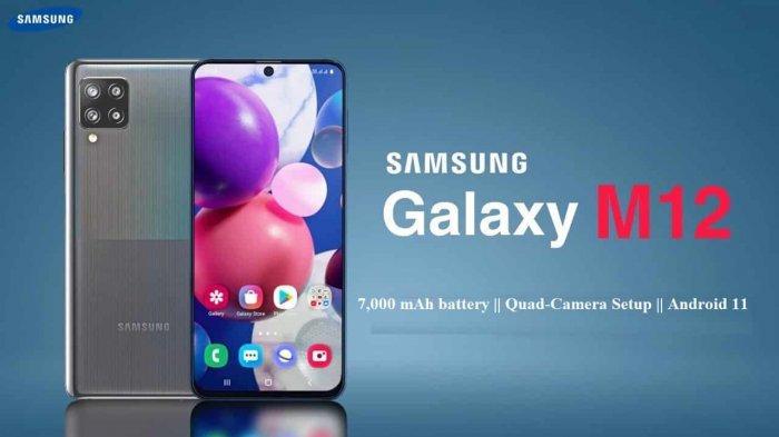 Salah satu warna Galaxy M12