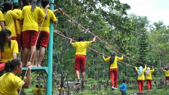 Objek wisata Sanggar Luru Ilmu (Sanggaluri) Park di Desa Kutasari, Kecamatan Kutasari, Purbalingga
