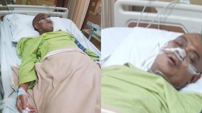 Sapri saat ini dirawat di RS Asih Ciledug, Tangerang di ruang ICU (Intensive Care Unit).