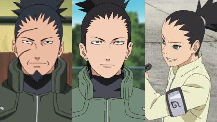 Shikaku, Shikamaru, dan Shikadai dari Klan Nara