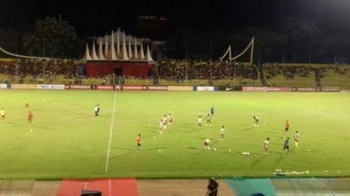 Stadion Haji Agus Salim, Padang. (Tribun Timur/Alfian)