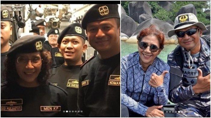 Susi Pudjiastuti Kenang Sosok Kolonel Laut Harry Setiawan, yang gugur dalam tugas bersama KRI Nanggala-402