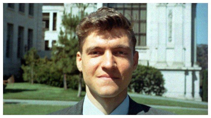 Theodore J. Kaczynski saat masih menjadi asisten profesor di UC Berkeley tahun 1968.