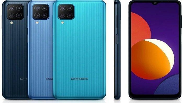 Tiga variasi warna Galaxy M12