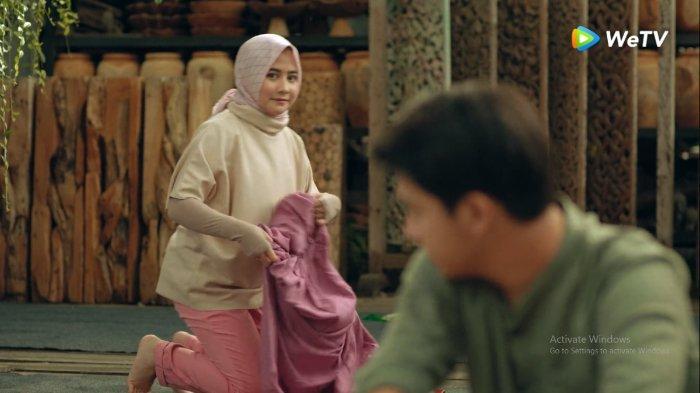 Cuplikan adegan di serial drama Ustad Milenial