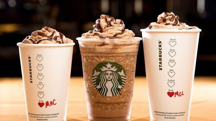 Varian Minuman di Starbucks