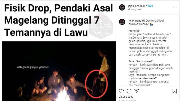 Viral Pendaki Cedera di Gunung Lawu, Malah Ditinggal Teman Ngopi