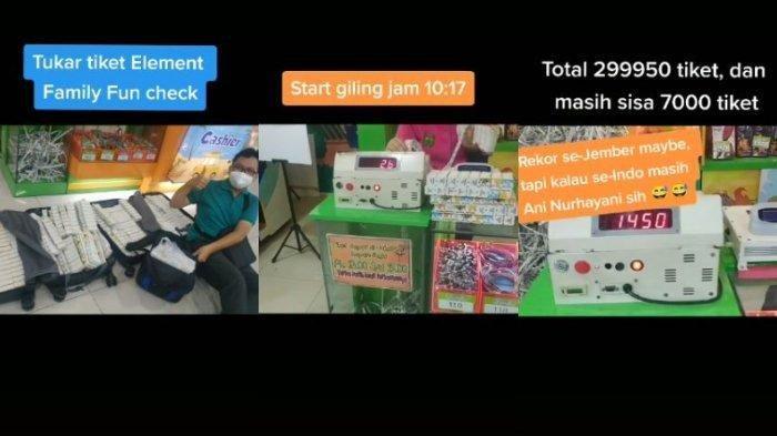 Viral di Media Sosial, Bawa Koper berisi 300 Ribu Tiket dari Wahana Bermain Mendapatkan Ponsel Seharga Rp 5,9 Juta