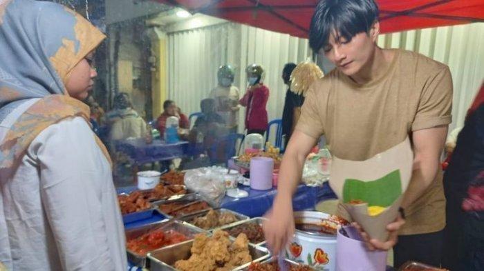 Viral penjual nasi kuning mirip Lee Min Ho