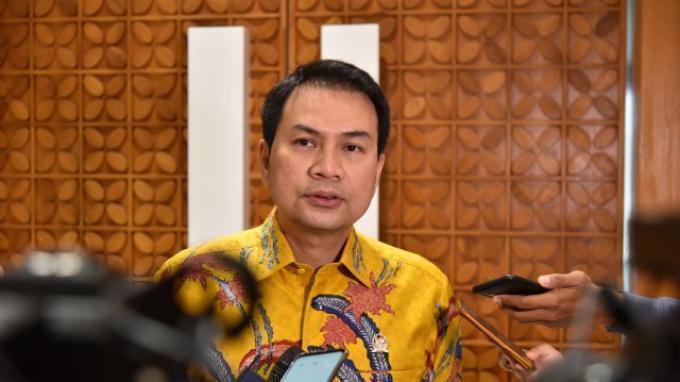 Wakil Ketua DPR RI M. Azis Syamsuddin