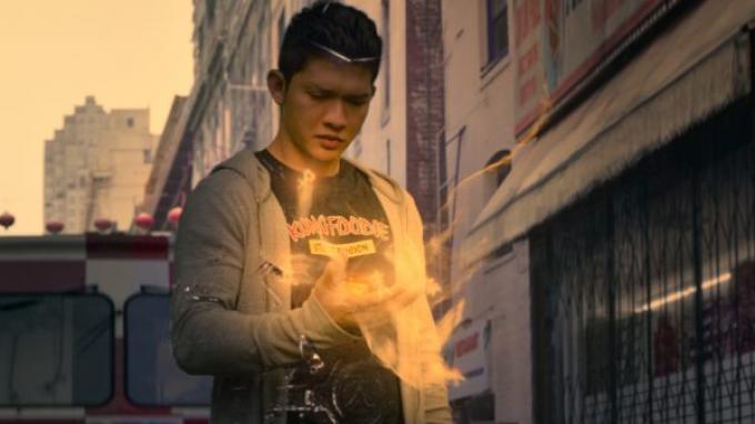 Cuplikan adegan serial Wu Assassins.