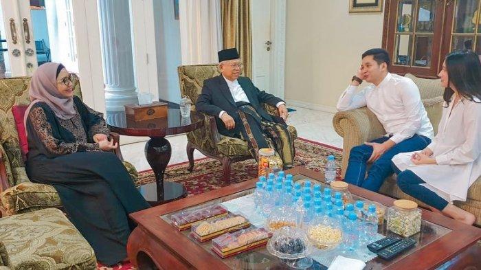 Adly Fairuz dan KH Maruf Amin