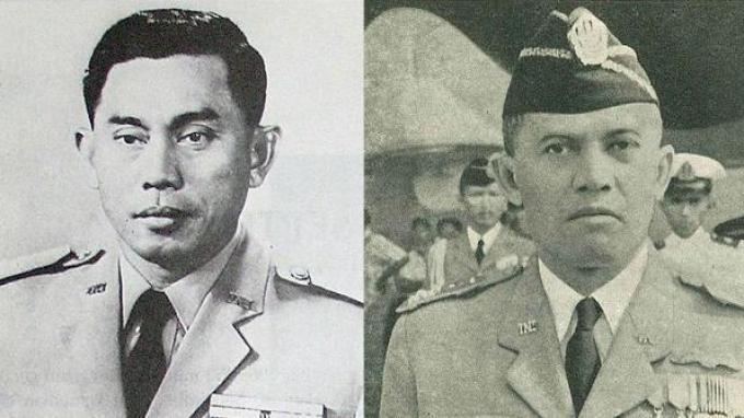 Ahmad Yani dan Abdul Haris Nasution.