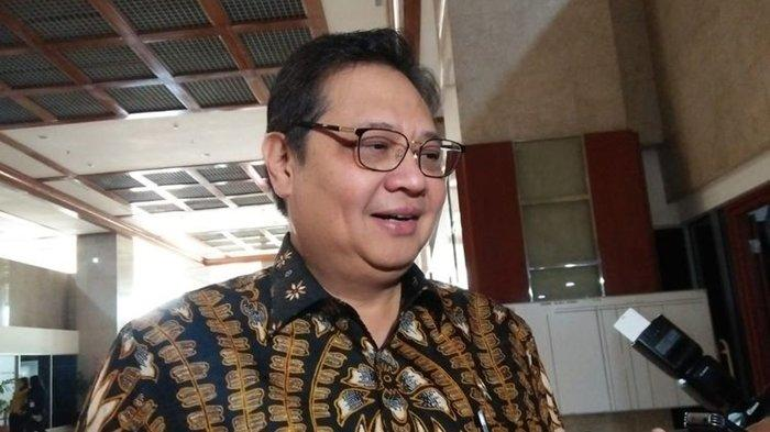 Ketua Umum Partai Golkar, Airlangga Hartarto di Kompleks Parlemen, Senayan, Jakarta, Rabu (17/7/2019)(KOMPAS.com/Haryantipuspasari)