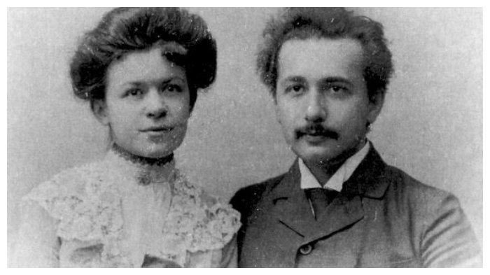 Albert Einstein dan Mileva Maric