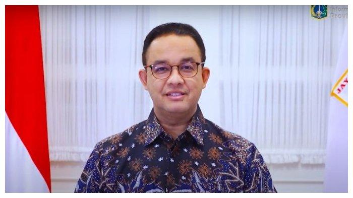 Gubernur DKI Jakarta Anies Baswedan mengucapkan selamat tahun baru 2021 dalam video yang diunggah melalui akun YouTube Pemprov DKI Jakarta.