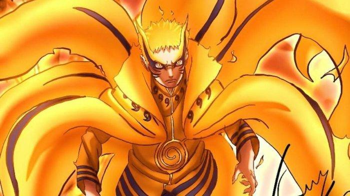Mode Baryon Hokage Ketujuh Uzumaki Naruto