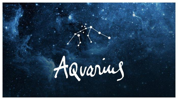 Simbol zodiak Aquarius.
