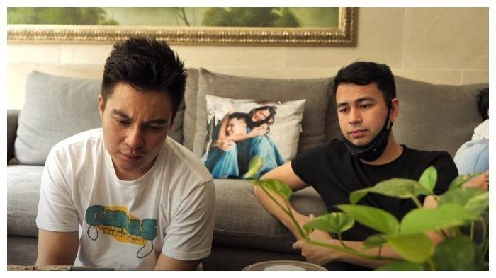Momen Baim Wong dan Raffi Ahmad video call dengan Aa Gym, Minggu (8/6/2020). Aa Gym terkesan dengan cerita Baim Wong mengenai pendidikan yang diberikan orang tua kepadanya.