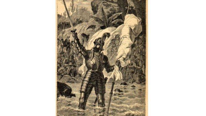 Balboa mengklaim Pasifik sebagai milik Spanyol