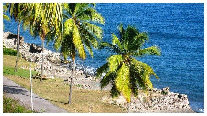 Bangunan St. Eustatius hancur karena badai tahun 1780