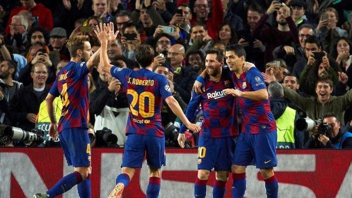 Para pemain Barcelona musim 2019-20.