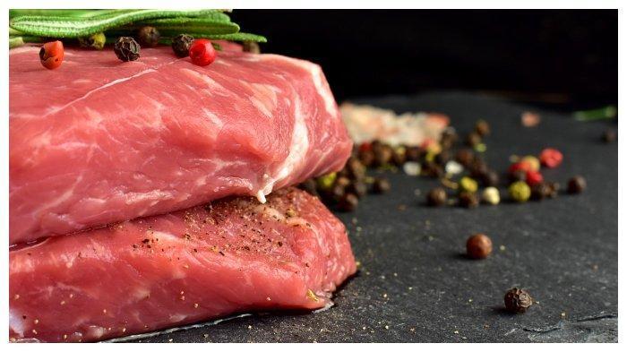 Ilustrasi daging.