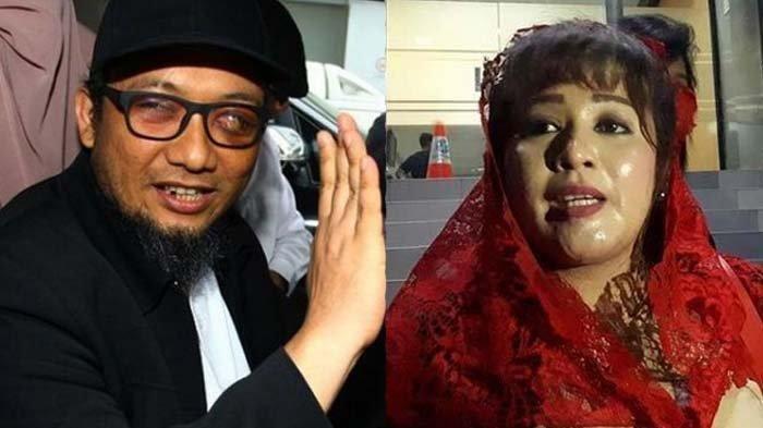 Dewi Tanjung melaporkan Novel Baswedan, sebut bahwa kejadian penyerangannya merupakan rekayasa belaka.