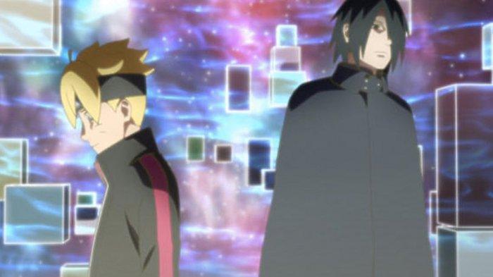 Spoiler Boruto Episode 136 Rilis 15 Desember 2019: Sasuke dan Boruto kembali ke masa sekarang