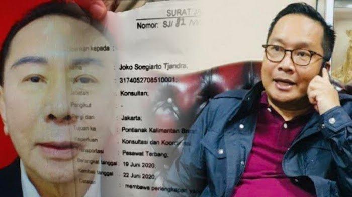 Brigjend Pol Prasetyo Utomo ditahan di ruangan khusus di Mabes Polri selama 14 hari setelah dicopot dari jabatannya sebagai Kepala Biro Koordinasi dan Pengawasan PPNS Bareskrim Polri lantaran terbukti menerbitkan surat jalan bagi Djoko Tjandra. (Kolase foto/net)