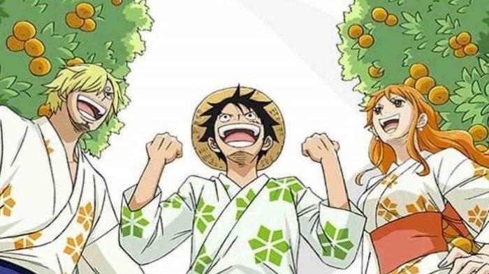 Pohon Jeruk Nami di One Piece