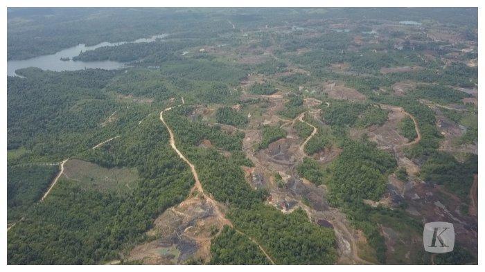 Taman Hutan Raya Bukit Soeharto terletak di Kabupaten Kutai Kartanegara dan Kabupaten Penajam Paser Utara, Kalimantan Timur. (KOMPAS)