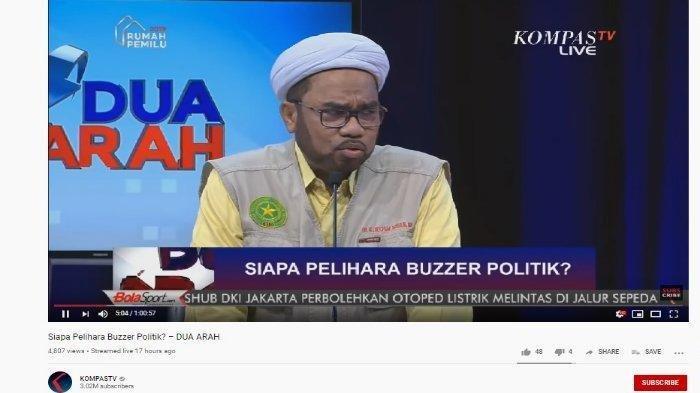 Ali Mochtar Ngabalin bicara soal Buzzer