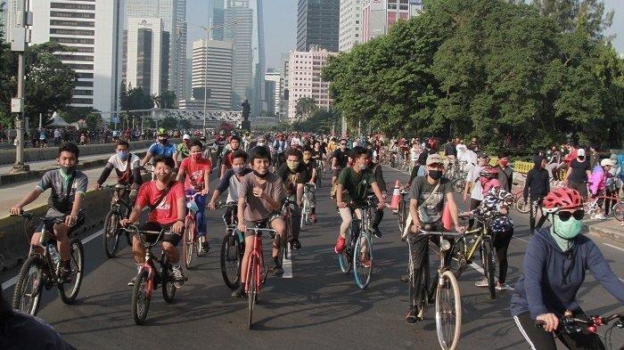 Daftar 32 lokasi khusus pesepeda untuk pengganti CFD di Sudirman-Thamrin.