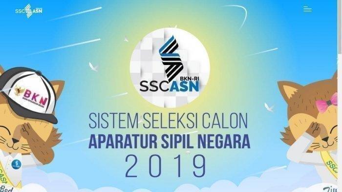 LINK Pendaftaran CPNS 2019, Lengkap dengan Tata Cara dan Kesalahan yang Perlu Dihindari di sscasn.bkn.go.id.