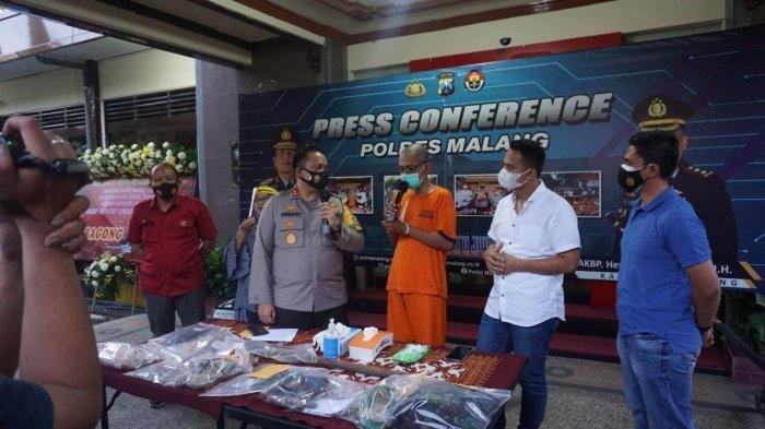 Dalang di balik hilangnya nyawa Mistrin di Malang.