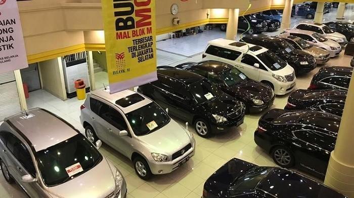 Ilustrasi dealer mobil bekas
