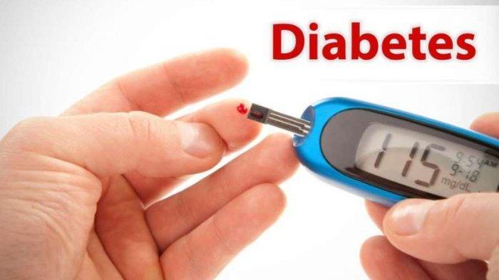 Ilustrasi penyakit diabetes.