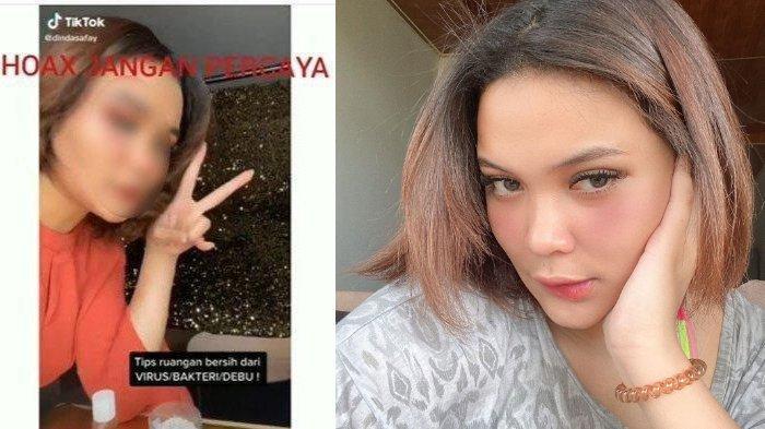Dinda Shafay dikomentari warganet dan selebtweet tentang pemberian Dettol di dalam Diffuser