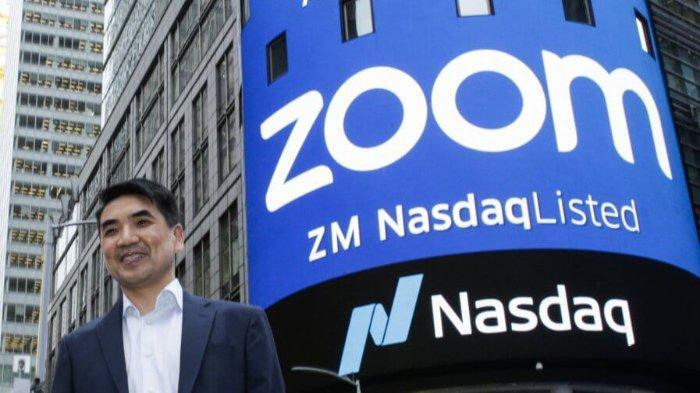 Eric Yuan, sosok dibalik kesuksesan Zoom.