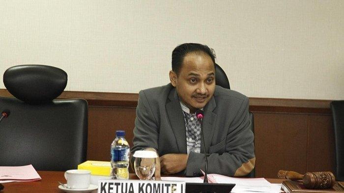 Fachrul Razi saat memimpin rapat Komite I DPD RI dengan Dirjen Pemasyarakatan Kemenkum dan Ham di Jakarta, Selasa (18/6/2019)