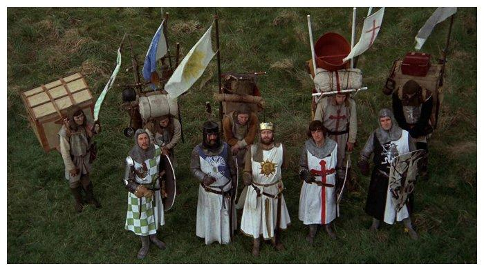 Film Monty Python and the Holy Grail (1975)