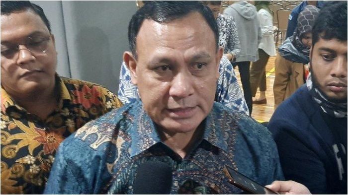 Ketua KPK Firli Bahuri di Gedung Merah Putih KPK, Kamis (5/3/2020).
