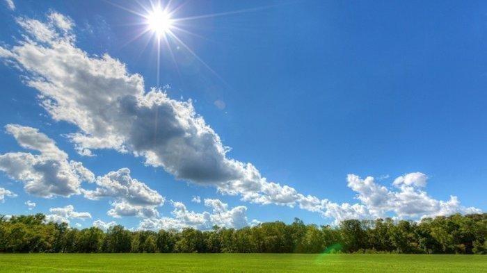 foto cuaca cerah