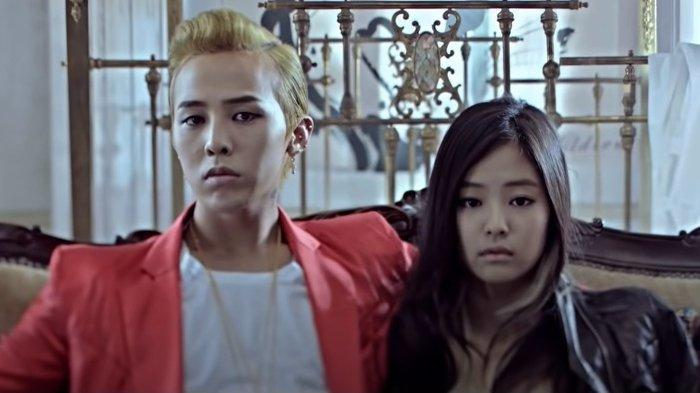 G-Dragon BIGBANG dan Jennie BLACKPINK