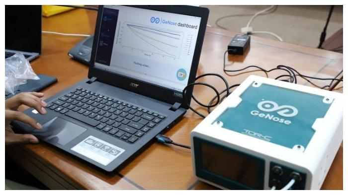 GeNose, alat pendeteksi Covid-19 buatan UGM, bisa mendeteksi Covid-19 dalam waktu 80 detik.