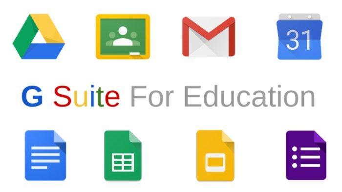 Google Suite for Education, aplikasi Google untuk mendukung kegiatan belajar daring atau online bagi para penggunanya.