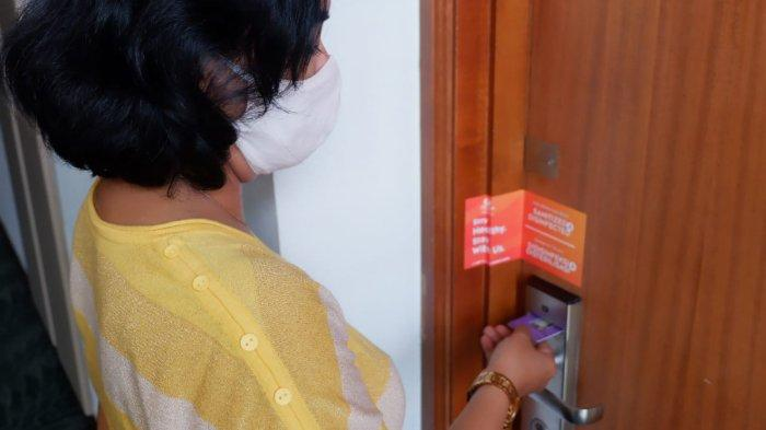 Grand Candi Hotel Semarang Lakukan Penyegelan Kamar demi Tingkatkan Protokol Kesehatan