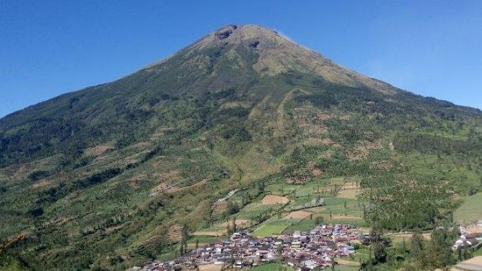 Gunung Sindoro Tribunnewswiki Com Mobile