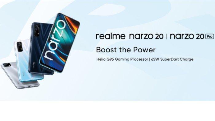 Hape Gaming Realme Narzo 20 Pro.